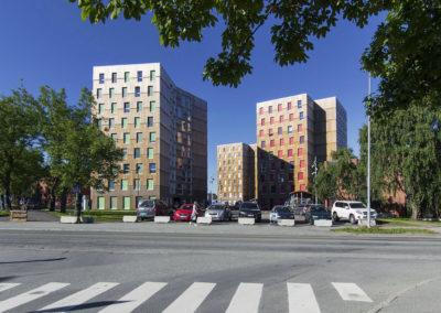 Studentské domy – Trondheim, Norsko